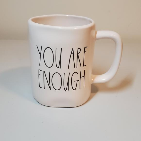 New Rae Dunn 'You Are Enough' Mug